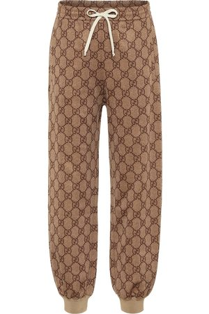 Gucci GG cotton-blend trackpants