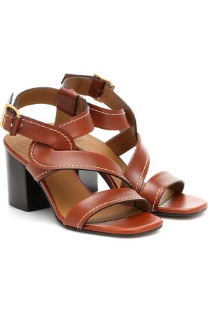 Chloé Candice leather sandals