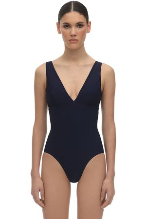 Bondi Born Veronica V Neck Lycra Swimsuit