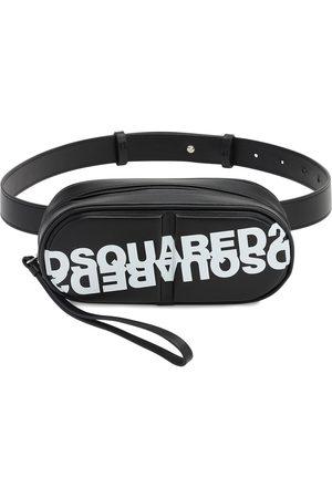 Dsquared2 Pills Printed Leather Belt Bag