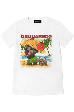 Dsquared2 Ciro Print Cotton Jersey T-shirt