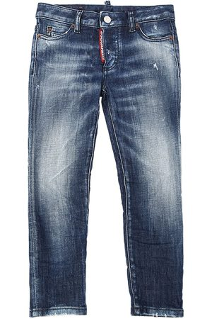 Dsquared2 Stretch Cotton Blend Jeans
