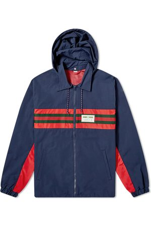 Gucci GRG Stripe & Nautical Logo Zip Windbreaker