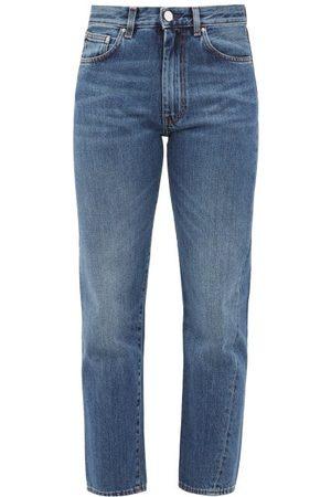 Totême Cropped Slim-fit Jeans - Womens - Denim