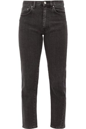 Totême Cropped Slim-fit Jeans - Womens - Grey