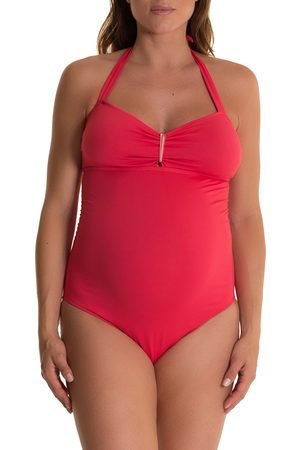 Pez D'Or Women's Solid One-Piece Maternity Swimsuit