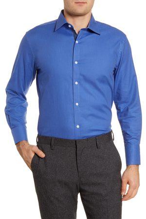 English Laundry Men's Regular Fit Solid Dress Shirt