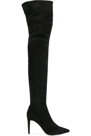 Sergio Rossi Over-the-knee heeled boots
