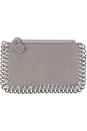 Stella McCartney Women Wallets - Falabella zipped wallet - Grey
