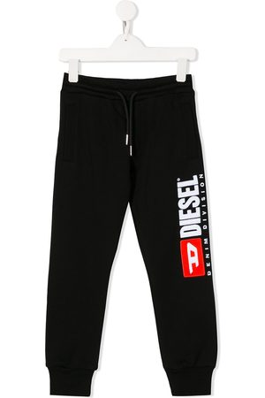 Diesel Logo drawstring track trousers