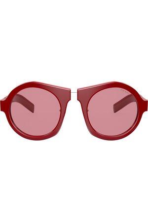 Prada Oversized round frame sunglasses
