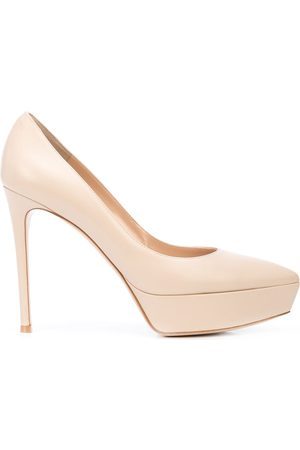 Gianvito Rossi Dasha platform pumps - Neutrals