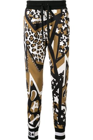 Dolce & Gabbana Star print track pants - Multicolour