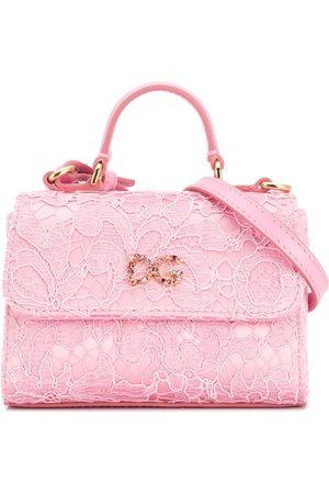 Dolce & Gabbana Lace DG shoulder bag