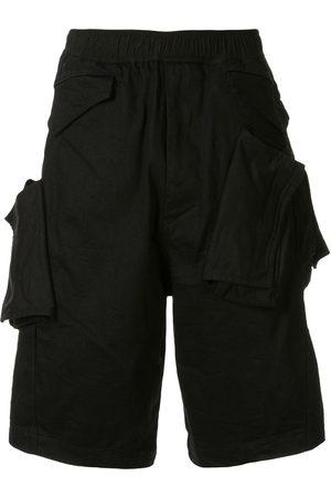JULIUS Men Bermudas - Pocket detail knee-length shorts