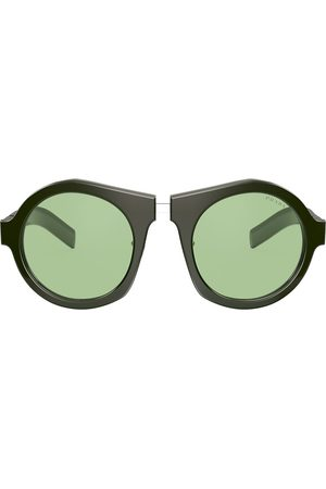 Prada Oversized round-frame sunglasses