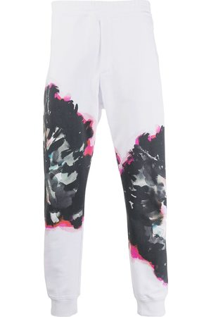 Alexander McQueen Abstract print track pants