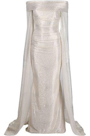 TALBOT RUNHOF Women Evening dresses - Bortolo dress - Neutrals