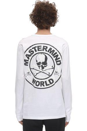 MASTERMIND Logo Printed Jersey Long Sleeve T-shirt