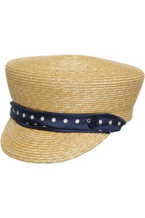 Le Mont St Michel Women Hats - Abby Raffia & Silk Hat