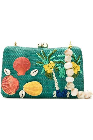 SERPUI Women Clutches - Straw clutch bag
