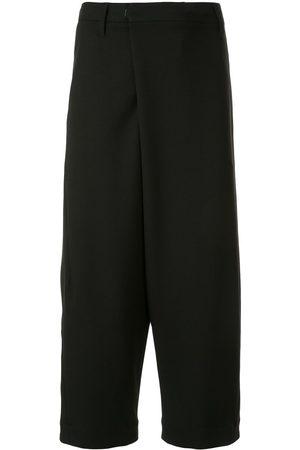 JULIUS Men Formal Pants - Cropped tailored trousers