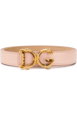 Dolce & Gabbana Women Belts - D&G Baroque buckle belt