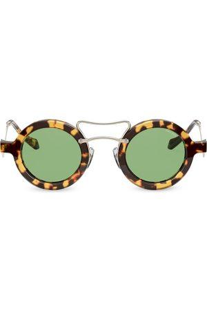 Miu Miu Women Round - Tortoiseshell round sunglasses
