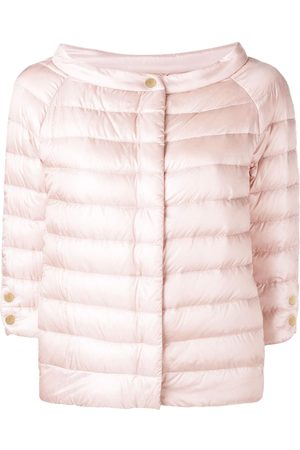 HERNO Women Puffer Jackets - Snap button padded jacket