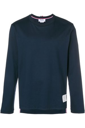 Thom Browne Men Long Sleeve - Loose fit longsleeved T-shirt