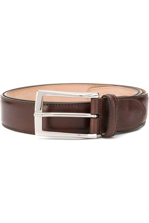 Scarosso Men Belts - Classic square buckle belt