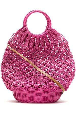SERPUI Women Tote Bags - Lara crochet basket bag