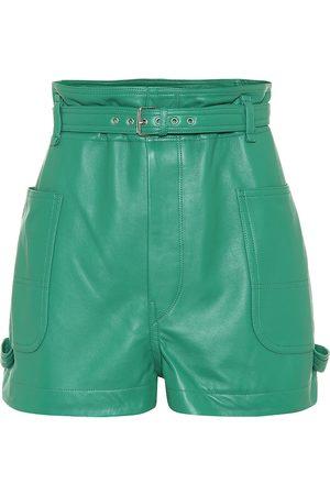 Isabel Marant Xike leather shorts