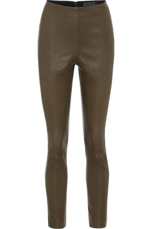 RAG&BONE Simone high-rise leather leggings