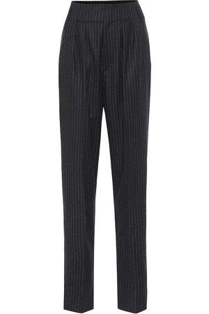 Isabel Marant Magali striped wool high-rise pants