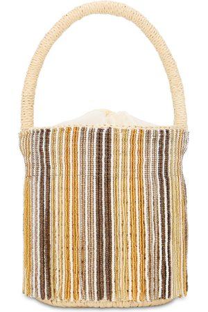 SENSI STUDIO Women Bags - Mini Beaded Bucket Bag