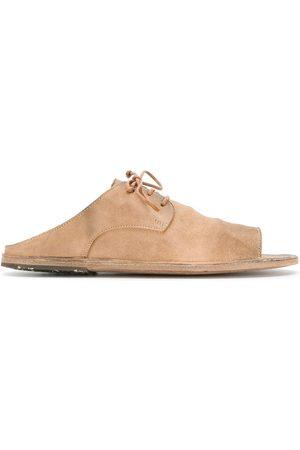 MARSÈLL Lace-up sandals - NEUTRALS