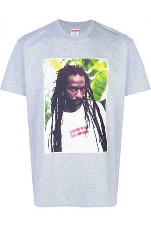 Supreme Men Short Sleeve - Buju Banton T-shirt - Grey