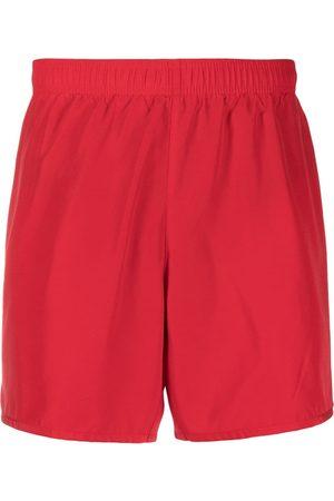 EA7 Men Swim Shorts - Elasticated logo swim shorts
