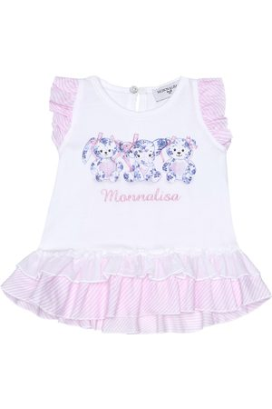 MONNALISA Baby stretch-cotton shirt