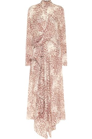 PETAR PETROV Abia leopard-print silk midi dress