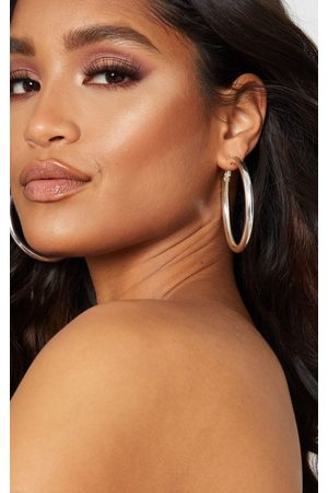 PRETTYLITTLETHING Tubular Medium Hoop Earrings