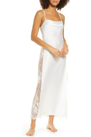 Rya Collection Women Nightdresses & Shirts - Women's Darling Satin & Lace Nightgown