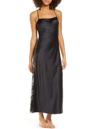 Rya Collection Women's Darling Satin & Lace Nightgown