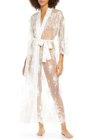 Rya Collection Women Bathrobes - Women's Darling Sheer Lace Robe