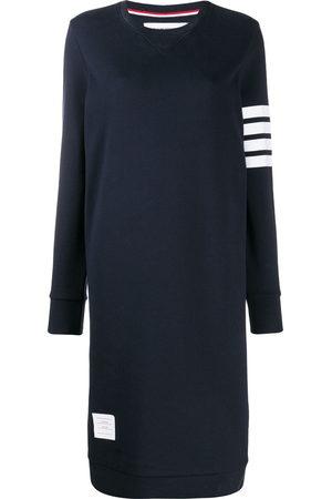 Thom Browne Women Casual Dresses - 4-Bar stripe jumper dress