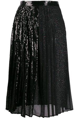 MARCO DE VINCENZO High-waist embellished skirt