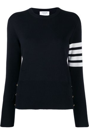 Thom Browne Women Sweaters - 4-Bar stripe jumper