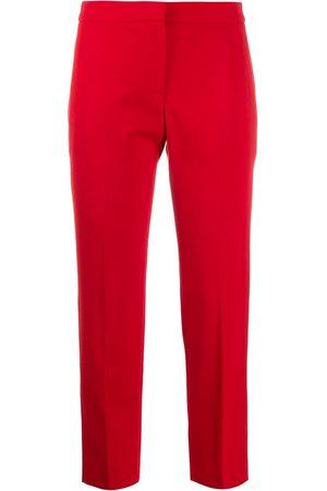 Alexander McQueen Women Skinny Pants - Slim-fit cropped trousers