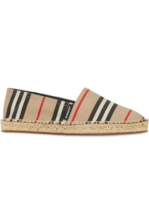 Burberry Icon Stripe espadrilles - NEUTRALS